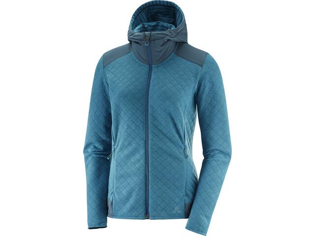Salomon Elevate Running Jacket Women teal